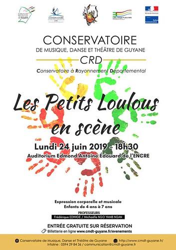 Les petits loulous en scène (24/06/2019)