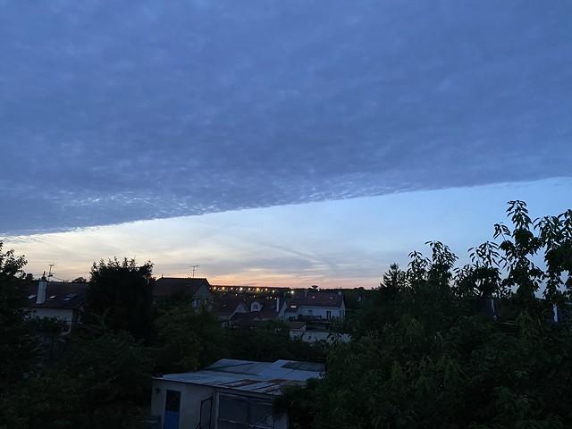 Coucher de soleil, sunset, Cesson, Seine-et-Marne