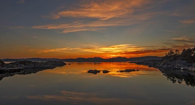 Kvåsefjorden, Norway