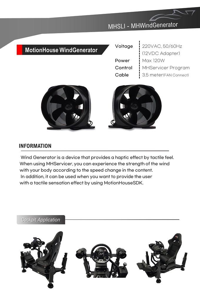 Motion House Wind Generator 2