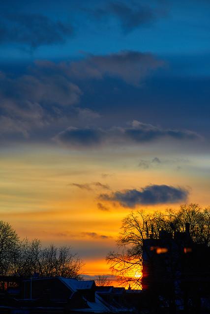 Golden Parkdale Skies
