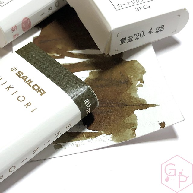 Sailor Shikiori Fountain Pen Ink Cartridges Make Great Gifts! Also, Very Adorable 9