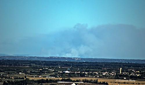 feu france fire incendie provence istre régionpaca occitanie languedocroussillon gard emart emmanuellebaudry paysage landscape view vue hdr