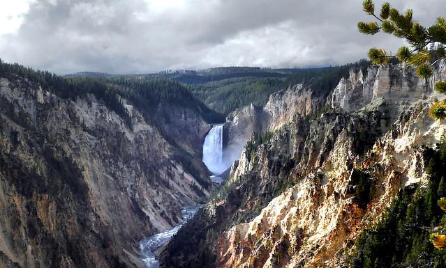 Yellowstone NP. Artist Point.