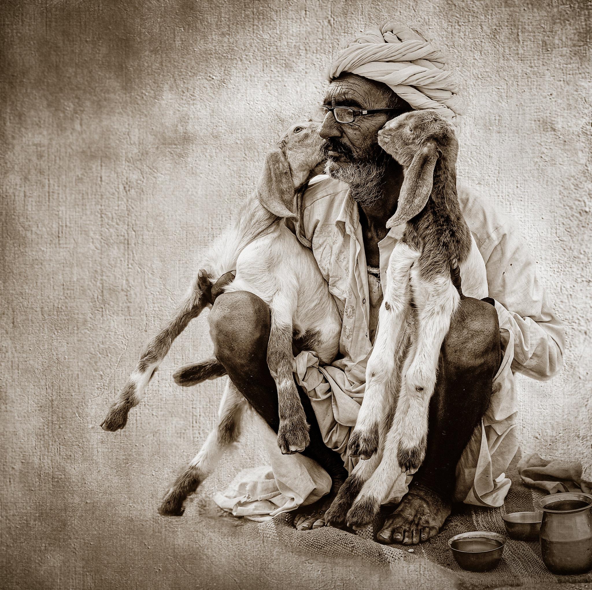 Goatees by Jeff Lipshitz