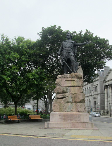 William Wallace Statue, Aberdeen