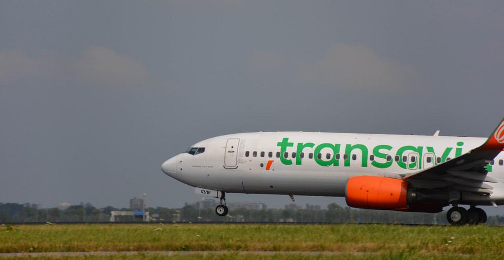 Boeing 737-8EH - Transavia Airlines / GOL Transportes Aéreos