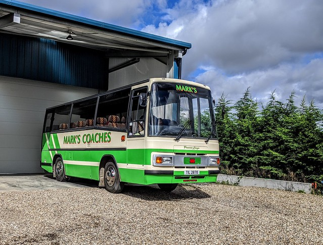 Bedford YMPS Plaxton Paramount - Mark's Coaches