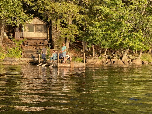 family vacation maine me princeton camping camp longlake biglake fishing