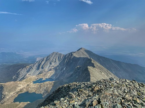 View towards the southeast from Blanca Peak | by Phil Turk