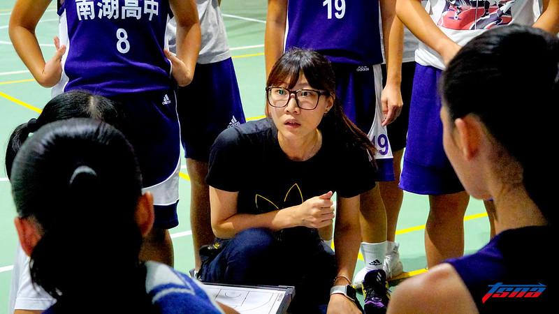 南湖高中總教練孫韻筌。(記者李沅芷/攝)