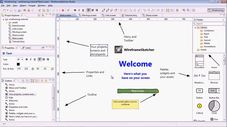 Working with Wireframe Sketcher 6.2.2 full license