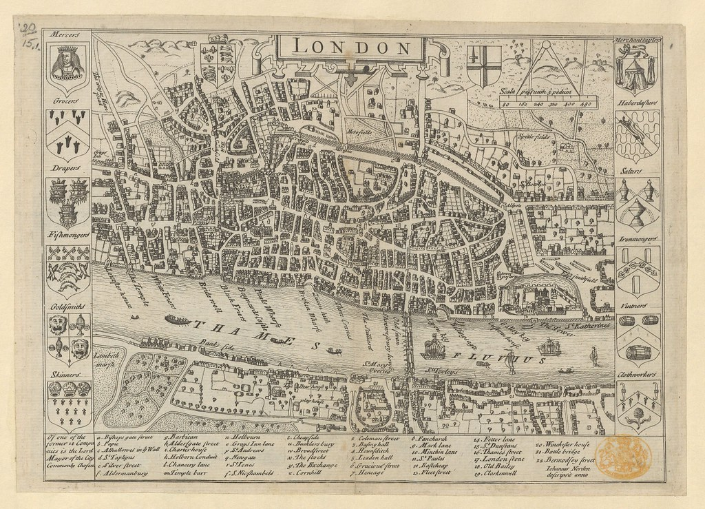 """The BL King's Topographical Collection: """"LONDON. """""""