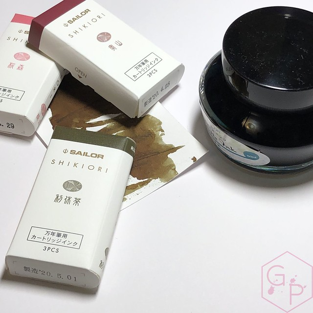 Sailor Shikiori Fountain Pen Ink Cartridges Make Great Gifts! Also, Very Adorable 10