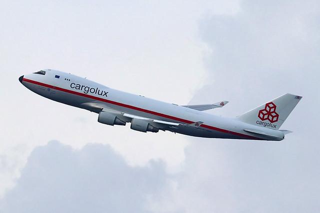 LX-NCL   Boeing 747-4EVFER   Cargolux
