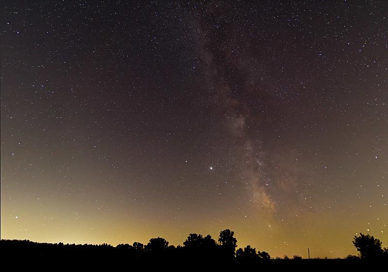 Milky Way Over LaPorte County