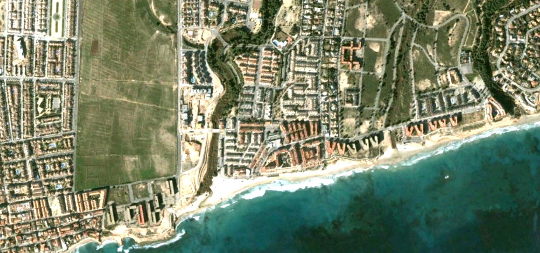 mil palmeras, alicante, cien gaviotas donde irán, antes, urbanismo, planeamiento, urbano, desastre, urbanístico, construcción