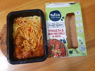 Ruffies Spaghetti and Meatballs