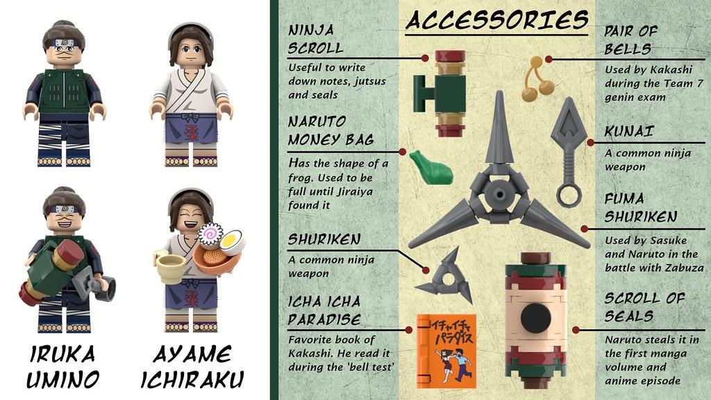 DadiTwins LEGO Ideas投稿《火影忍者》一樂拉麵!火影迷、拉麵控大興奮