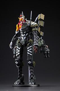 海洋堂 DGK系列《新·福音戰士劇場版:│▌》EVA 新2號機α 3D列印組裝模型 大魄力登場!