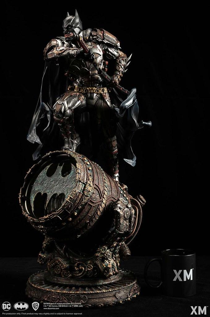 XM Studios DC【蝙蝠守護者】1/4 比例全身雕像 雙版本同步登場