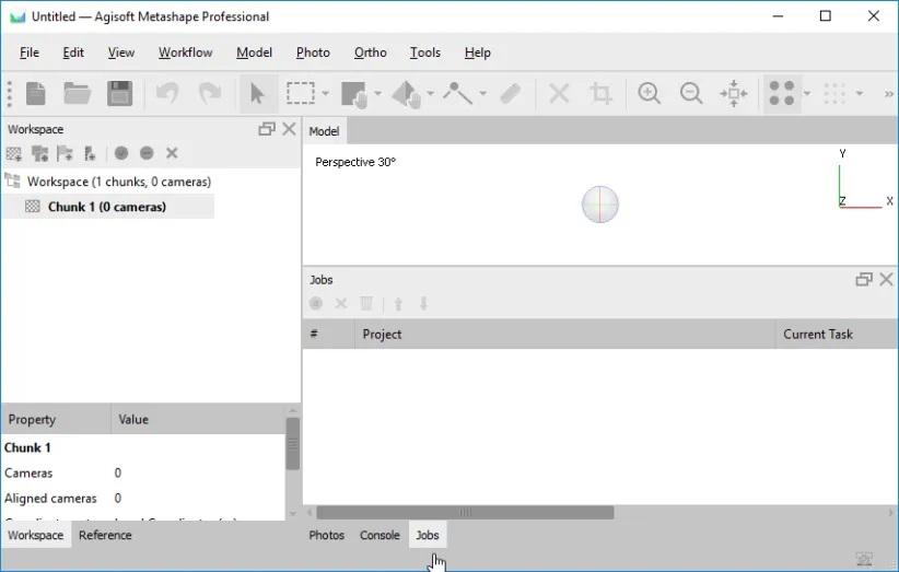 Working with Agisoft Metashape Professional 1.6.4 full license