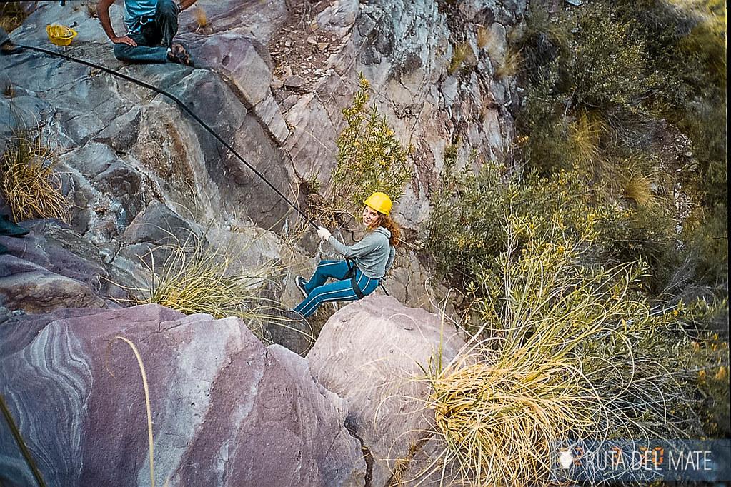Turismo aventura en Cañon del Atuel en Mendoza
