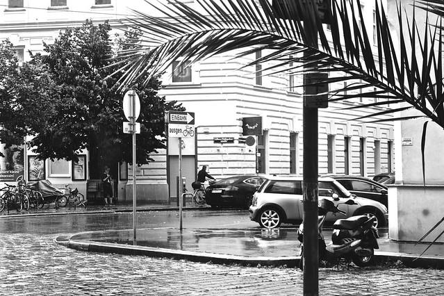 Regen / Obere Weißgerberstraße / Wenen