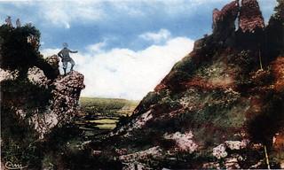 Côte à Robert, banc des Cordeliers, colline du château  et ses ruines