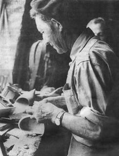Jean Clerc, fabricant de sabots à Beffia