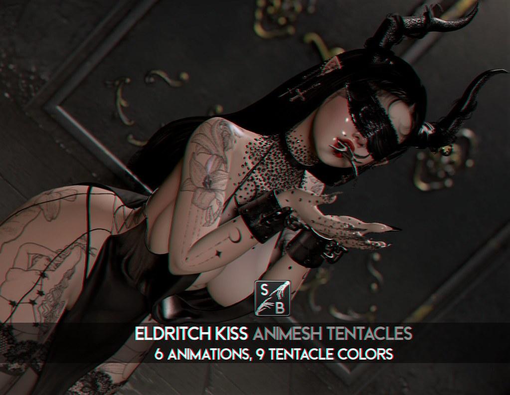 Skellybones – Eldritch Kiss – Animesh Tentacles @ SaNaRae