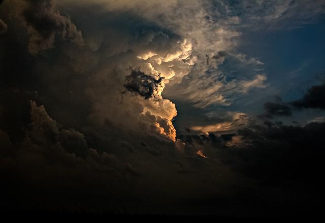Sunset Thunderhead