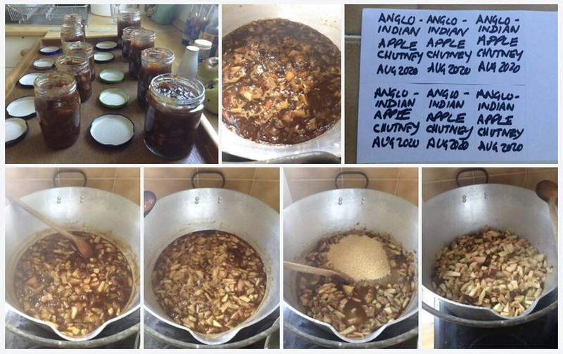 Anglo-Indian Apple Chutney: Montage