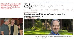 John Brockman of Edge, Epstein and the pandemic