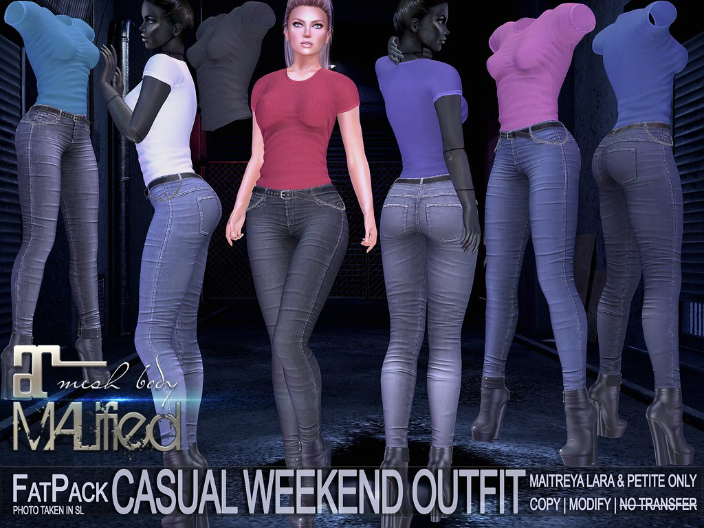 MALified – Casual Weekend Outfits – FatPack