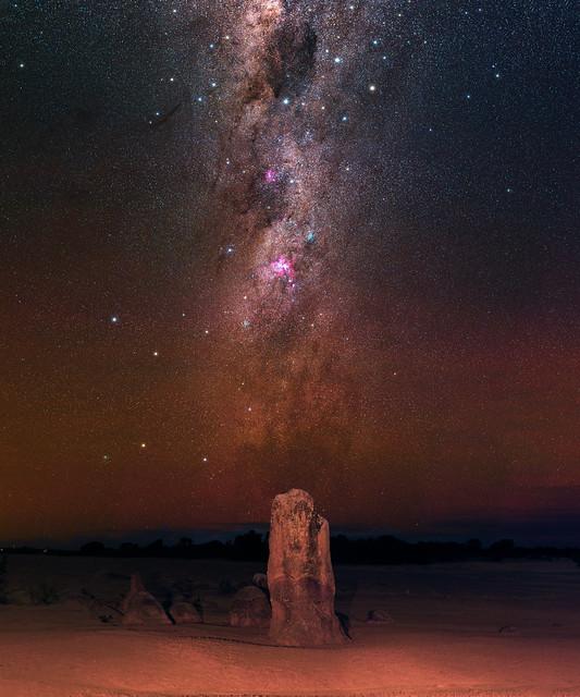 Crux & Carina at The Pinnacles Desert, Western Australia