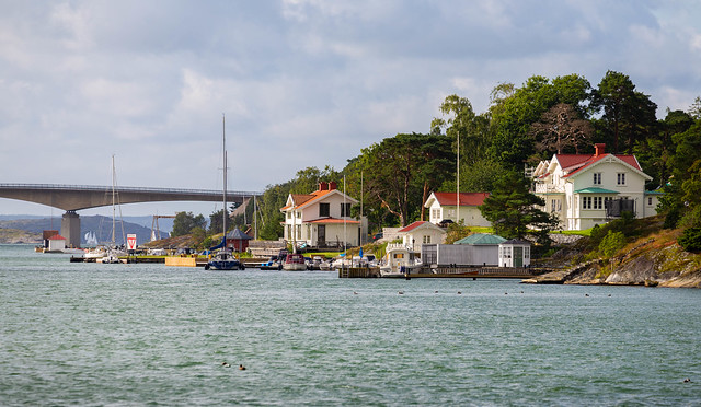 Houses on Stenungsön Island