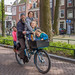 Henry with many kids on WorkCycles Fr8