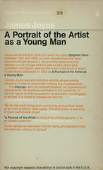 Penguin Books 1477 - James Joyce - A Portrait of the Artist as a Young Man (back)