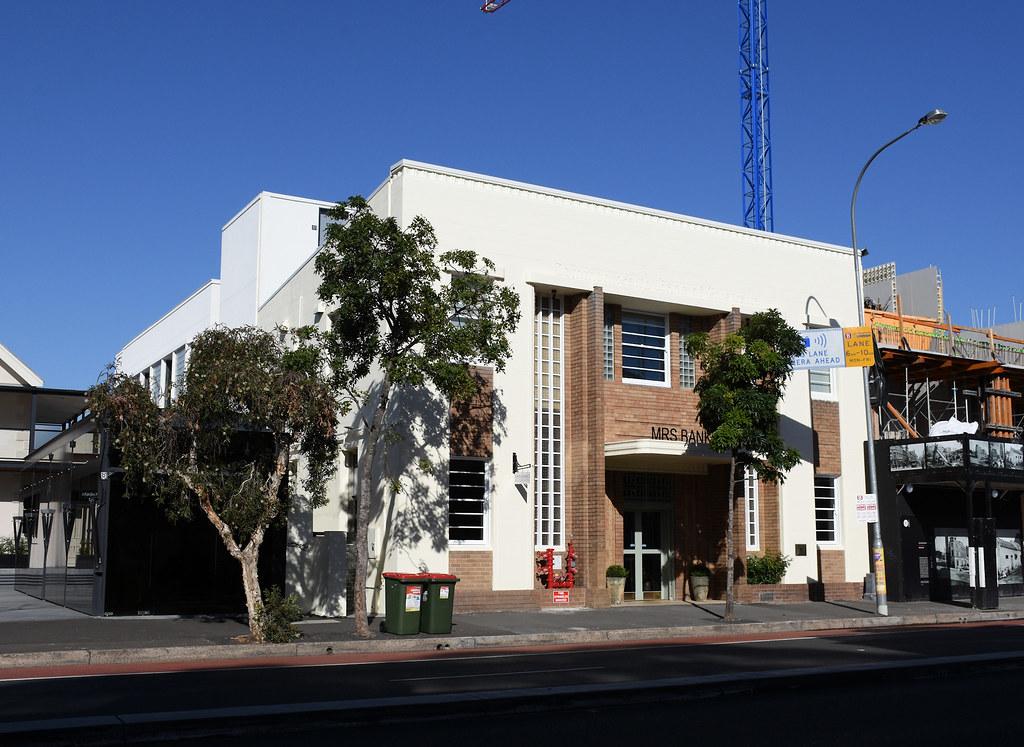 Mrs Banks Hotel, Former Commonwealth Bank, Paddington, Sydney, NSW.
