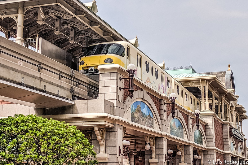 Monorraíl de la línea Disney Resort en Tokio