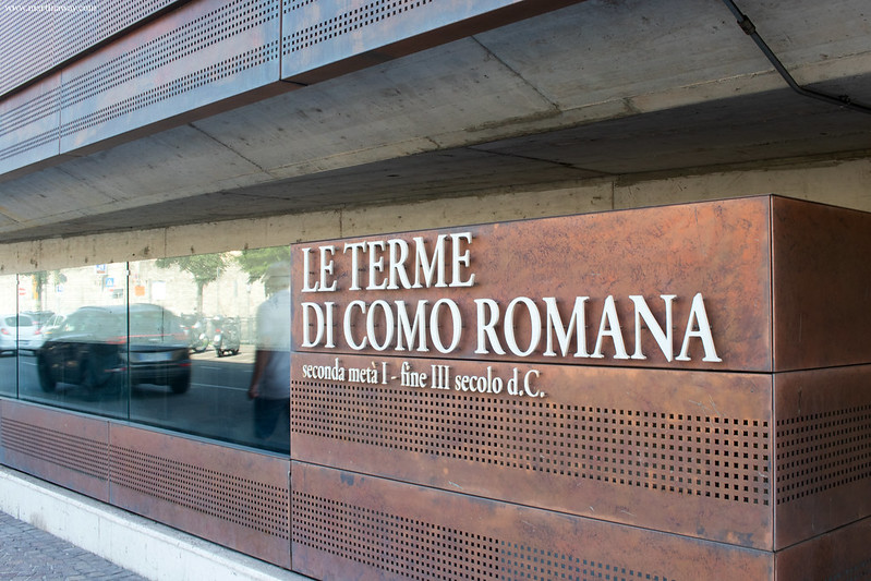 Le terme di Como Romana