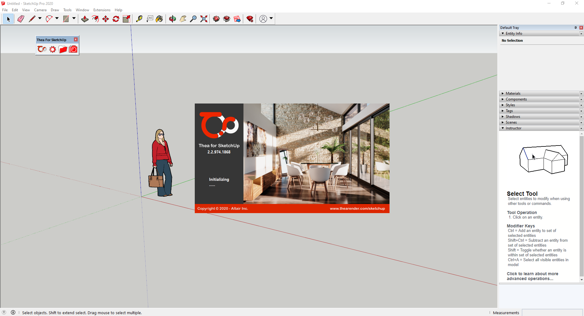 Working with Thea For SketchUp 2.2.974.1868 full license