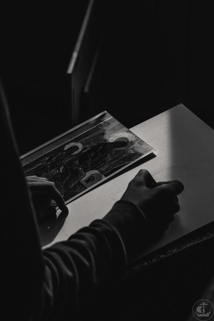 """25 августа 2020, Вступительные экзамены ФЦИ """"Иконописное отделение"""". Магистратура. День 2 / 25 August 2020, Entrance examinations Faculty of church Arts """"Iconpainting department"""". Magister degree . Day 2"""