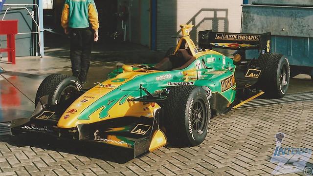 Team Australia Panoz DP01-Cosworth 2.65L turbocharged V8, 2007 Bavaria Champ Car Grand Prix, 2nd September