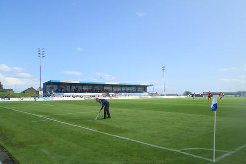East Stand, Balmoor Stadium