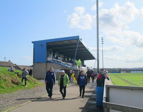 East Stand Balmoor Stadium