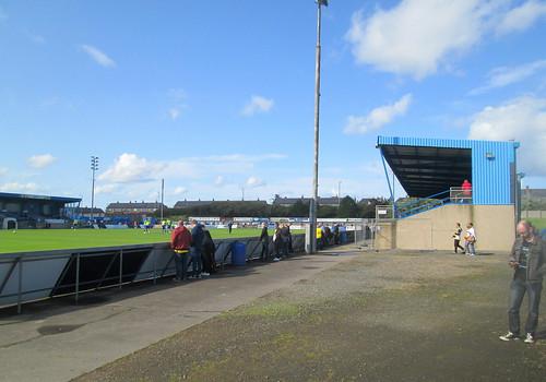 Balmoor Stadium, East Stand