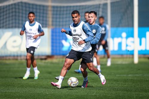 Treino Grêmio 25/08/2020