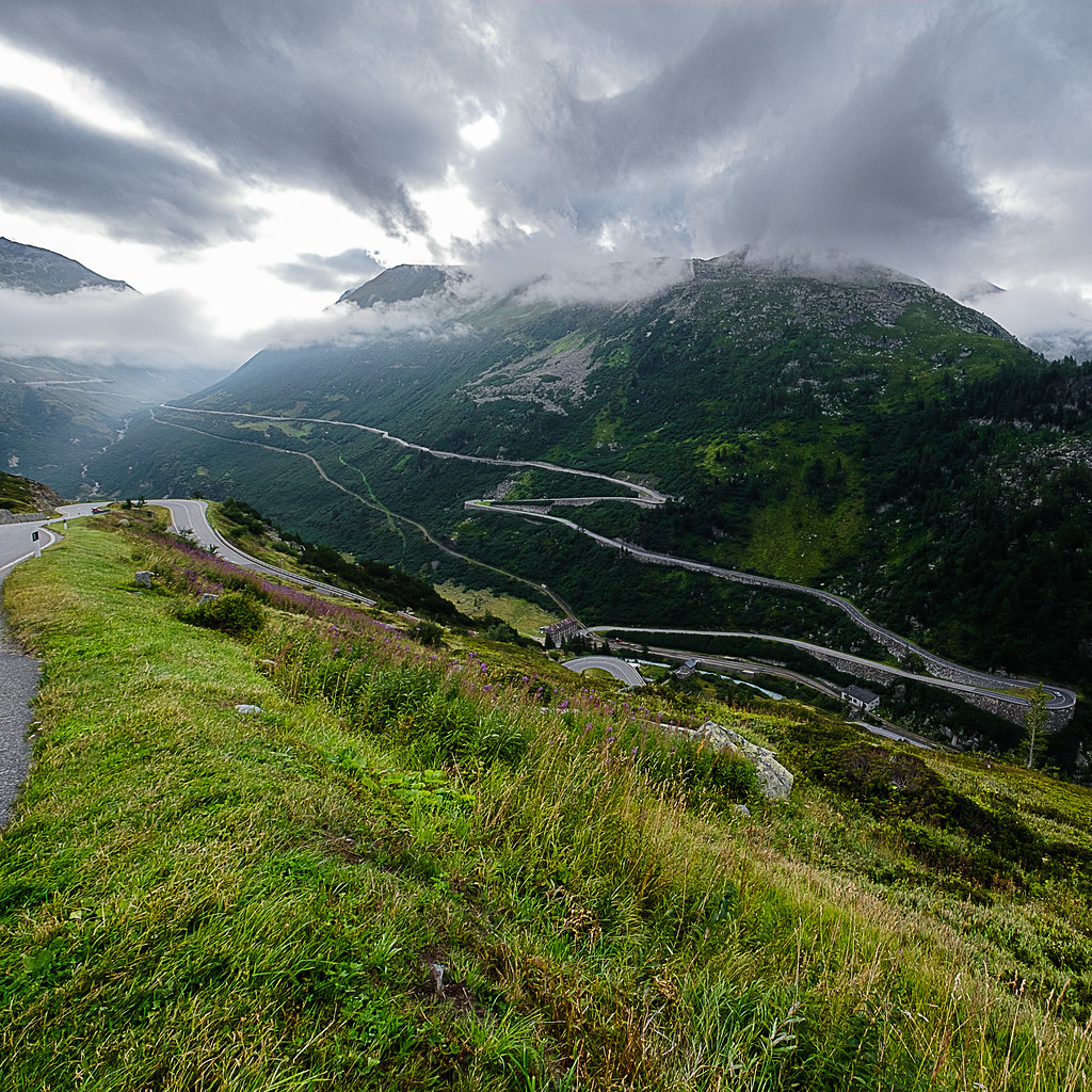 Typical Swiss Alpine Roads